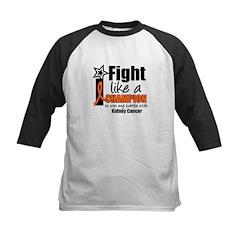 I Fight Strong (KC) Kids Baseball Jersey