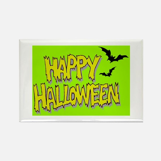 Rectangle Magnet-HAPPY HALLOWEEN!