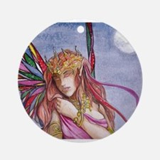 Moonlight fairy detail Ornament (Round)