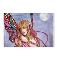 Moonlight fairy detail Postcards (Package of 8)