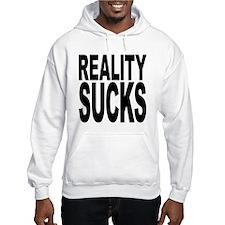Reality Sucks Hooded Sweatshirt