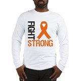 Fight leukemia Long Sleeve T-shirts