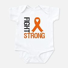 FightStrong OrangeRibbon Infant Bodysuit