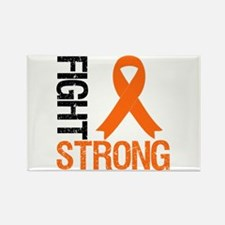 FightStrong OrangeRibbon Rectangle Magnet