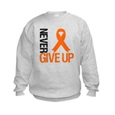 NeverGiveUp OrangeRibbon Sweatshirt
