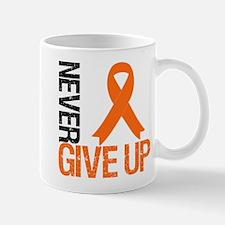 NeverGiveUp OrangeRibbon Mug