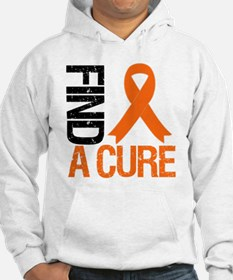 FindACure Orange Ribbon Hoodie