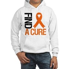 FindACure Orange Ribbon Jumper Hoody