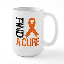 FindACure Orange Ribbon Mug