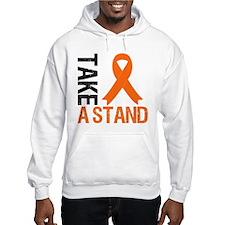 TakeAStand OrangeRibbon Jumper Hoody