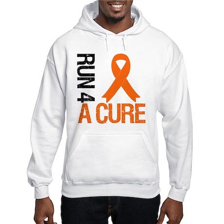 Run4ACure OrangeRibbon Hooded Sweatshirt