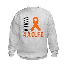 Walk4ACure OrangeRibbon Sweatshirt