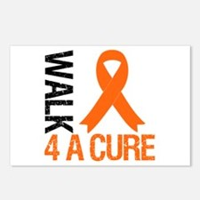 Walk4ACure OrangeRibbon Postcards (Package of 8)