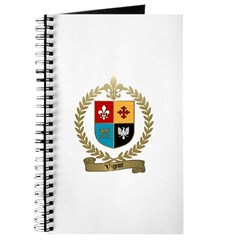 VIGNOT Family Crest Journal