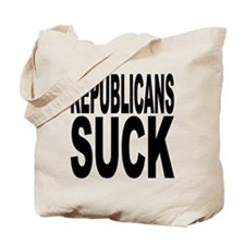 Republicans Suck Tote Bag