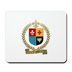VIGNOT Family Crest Mousepad