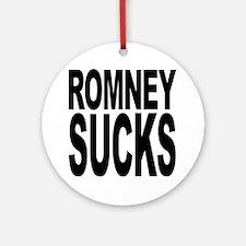 Romney Sucks Ornament (Round)