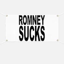 Romney Sucks Banner