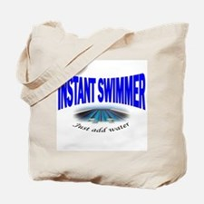Instant Swimmer Tote Bag