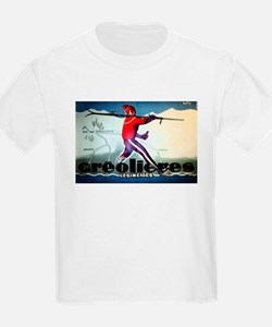 French Alps Skiing T-Shirt