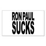 Ron Paul Sucks Rectangle Sticker
