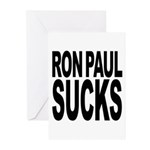 Ron Paul Sucks Greeting Cards (Pk of 20)