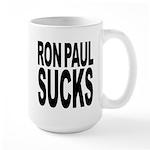 Ron Paul Sucks Large Mug
