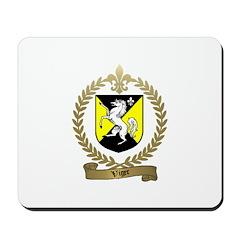 VIGER Family Crest Mousepad
