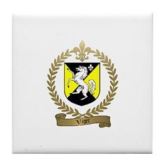 VIGER Family Crest Tile Coaster