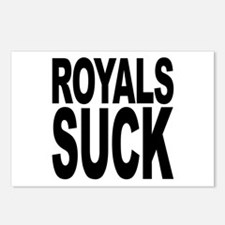 Royals Suck Postcards (Package of 8)