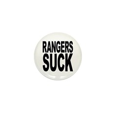 Rangers Suck Mini Button