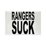 Rangers Suck Rectangle Magnet