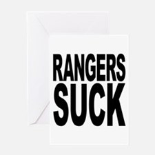 Rangers Suck Greeting Card