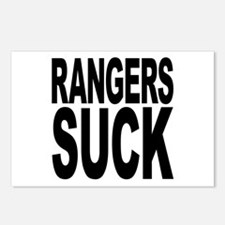 Rangers Suck Postcards (Package of 8)