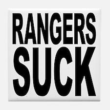 Rangers Suck Tile Coaster