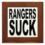 Rangers Suck Framed Tile