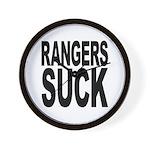 Rangers Suck Wall Clock