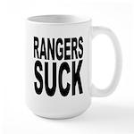 Rangers Suck Large Mug