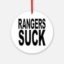 Rangers Suck Ornament (Round)