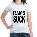 Rams Suck Jr. Ringer T-Shirt
