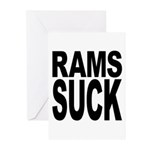Rams Suck Greeting Cards (Pk of 10)