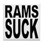 Rams Suck Tile Coaster