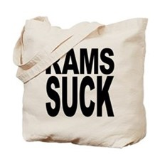 Rams Suck Tote Bag