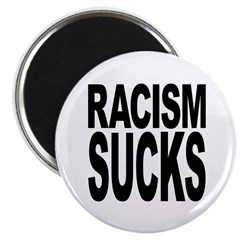 Racism Sucks Magnet