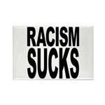 Racism Sucks Rectangle Magnet