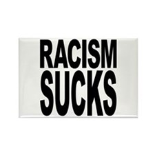 Racism Sucks Rectangle Magnet (100 pack)