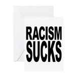 Racism Sucks Greeting Card