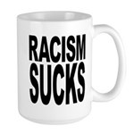 Racism Sucks Large Mug