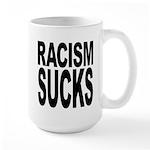 Racism Sucks Large Mug