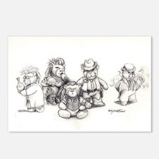 """Deadlands"" Teddy Bears Postcards (Package of 8)"